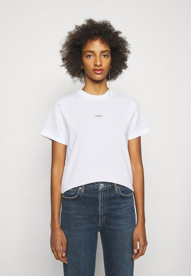 OSLO TEE - T-shirt basique - white