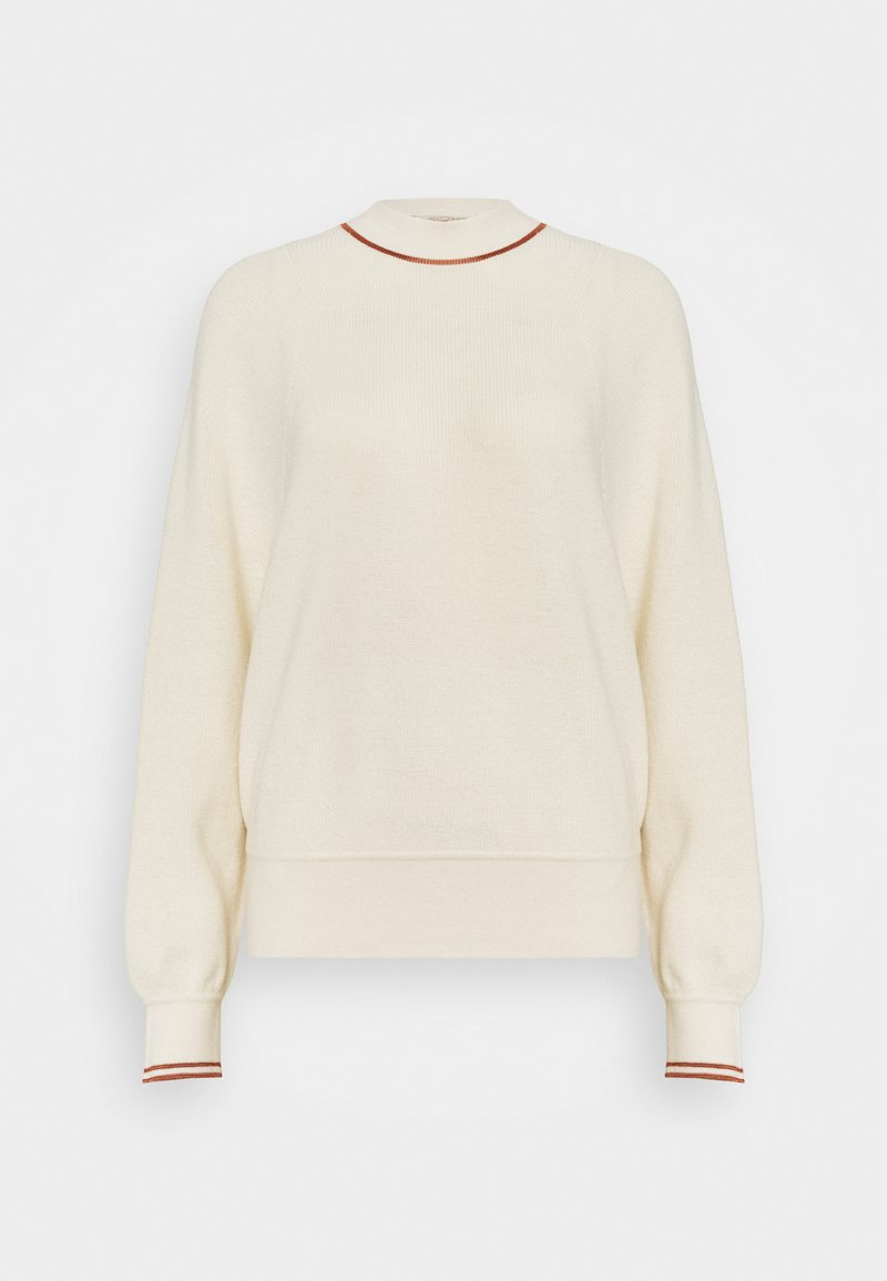 Scotch & Soda - CREWNECKPULL WITH SPORTY DETAILS - Jumper - off white