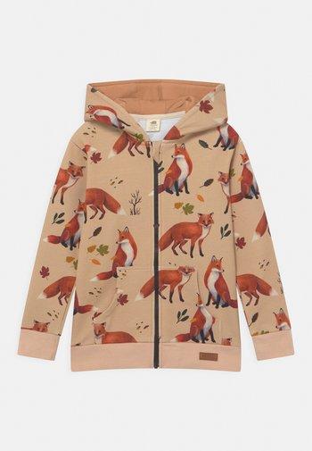 FOXES UNISEX - Zip-up sweatshirt - red