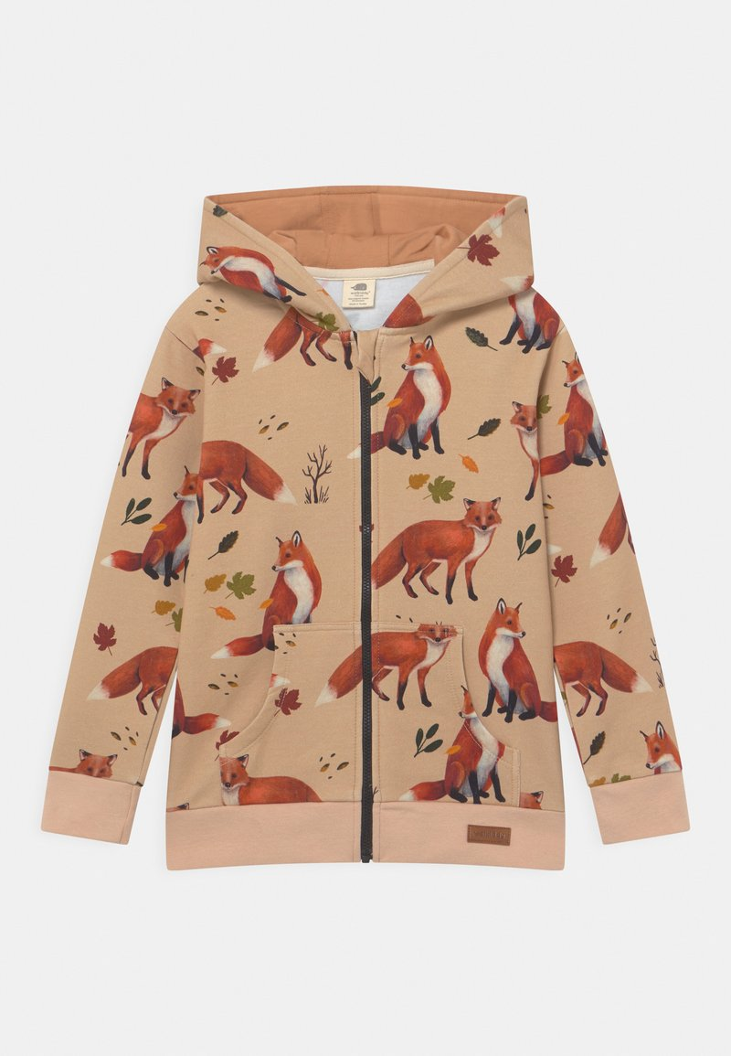 Walkiddy - FOXES UNISEX - Zip-up sweatshirt - red