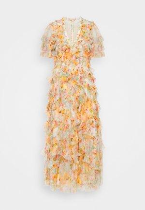 SUNSET GARDEN V NECK BALLERINA DRESS - Maxi šaty - ivory
