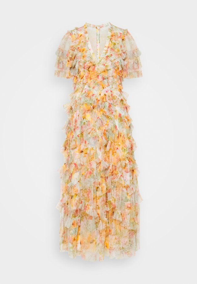 SUNSET GARDEN V NECK BALLERINA DRESS - Maxi-jurk - ivory
