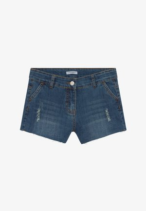 TEEN GIRLS SHORTS - Jeansshort - dark blue