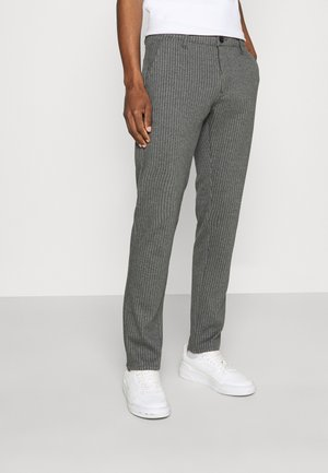 Trousers - light slate melee