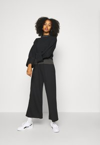 Anna Field - WIDE FIT JOGGERS - Tracksuit bottoms - black - 3