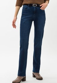 BRAX - STYLE CAROLA - Straight leg jeans - used regular blue - 0