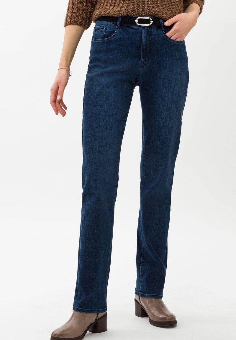 BRAX - STYLE CAROLA - Straight leg jeans - used regular blue