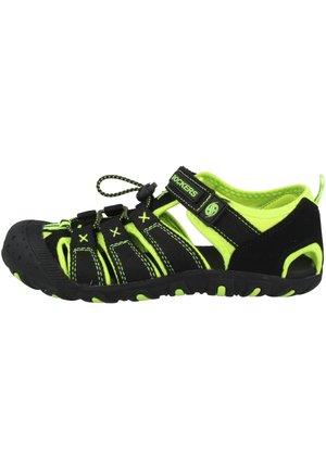 Walking sandals - black-yellow (40tw650-637190)