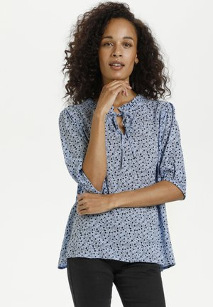 Blouse - chambray blue petitefleur