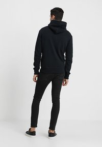 Superdry - LABEL ZIPHOOD - Mikina na zip - eclipse navy - 2