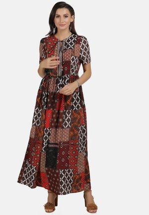 Maxi dress - multi print