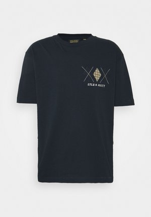 DIAMOND APPLIQUE - Print T-shirt - dark navy