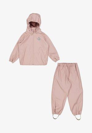 SET - Rain trousers - rose