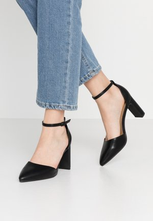 JEANNE CLOSED TOE HEEL - Decolleté - black