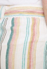 ONLY Carmakoma - CARSTACYI - Shorts - desert sage/multi stripes - 3