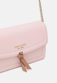 kate spade new york - FLAP CROSSBODY - Across body bag - chalk/pink multi - 3