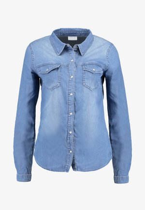 VIBISTA DENIM SHIRT - Paitapusero - medium blue denim