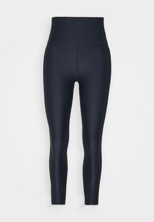 HIGH SHINE 7/8 WORKOUT - Leggings - navy blue