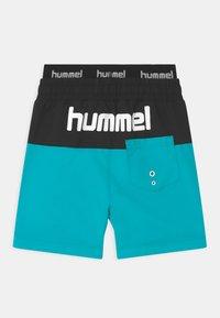 Hummel - GARNER UNISEX - Swimming shorts - scuba blue - 1