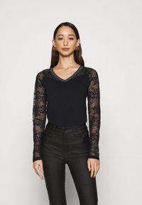 Morgan - TERRIE - Long sleeved top - noir - 0