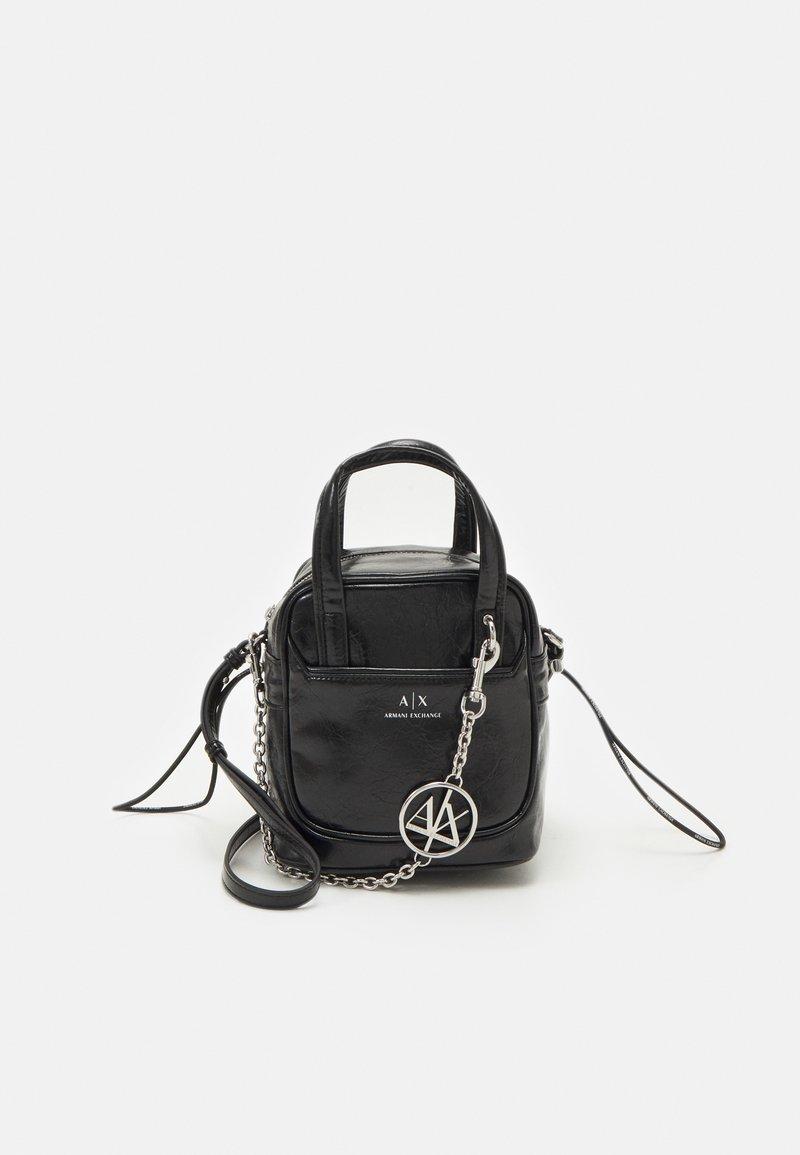 Armani Exchange - SHOULDER BAG - Kabelka - black