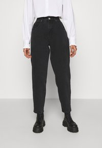 Cotton On - SLOUCH MOM - Jeans baggy - midnight black - 0