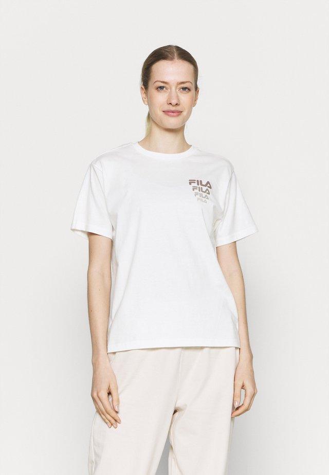 CORA TEE - T-shirt print - snow white