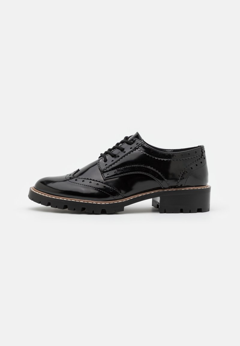 Dorothy Perkins - LEAR BROGUE LOAFER - Lace-ups - black