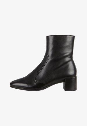 SHAPE SQUARED - Cowboy/biker ankle boot - black