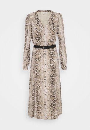 SUPER SNAKE KATE - Shirt dress - dune
