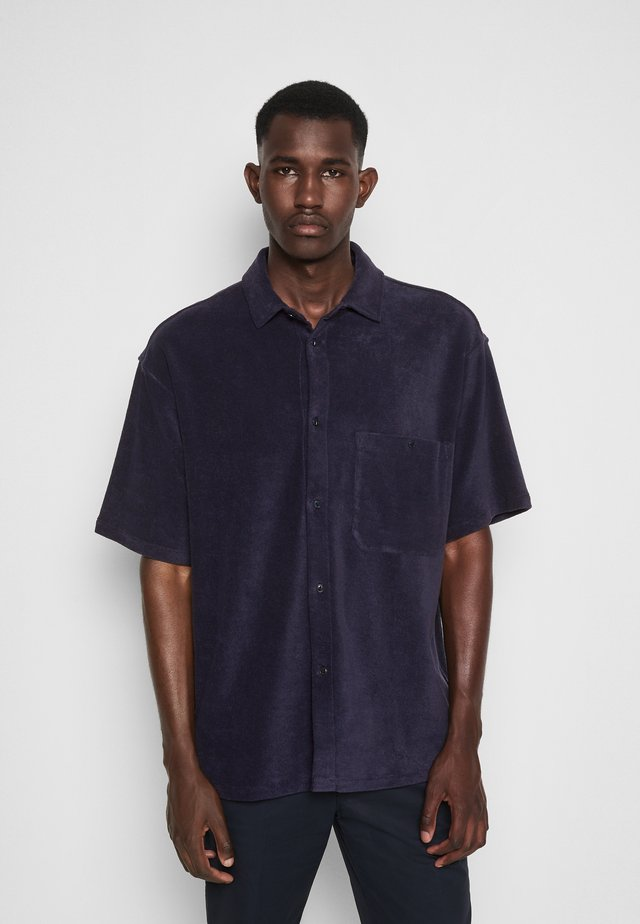 STRETCH SHIRT - Overhemd - navy