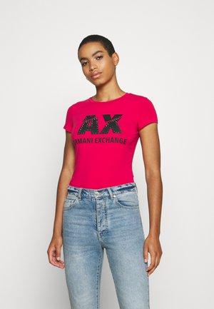 Print T-shirt - record