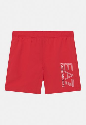 EA7 BEACH - Swimming shorts - red