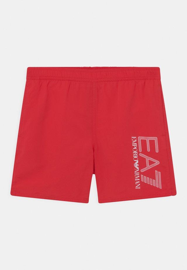 EA7 BEACH - Shorts da mare - red