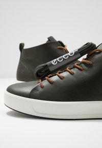 ECCO - SOFT - Höga sneakers - deep forest - 5