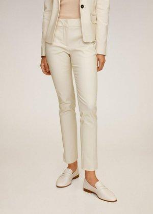 COFI7-N - Spodnie materiałowe - beige