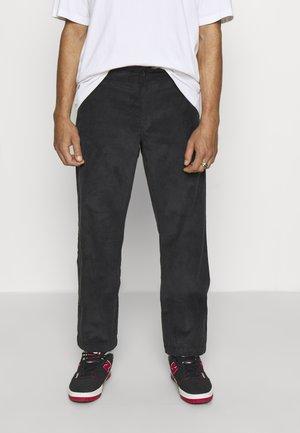 HIGGINSON PANT - Spodnie materiałowe - black
