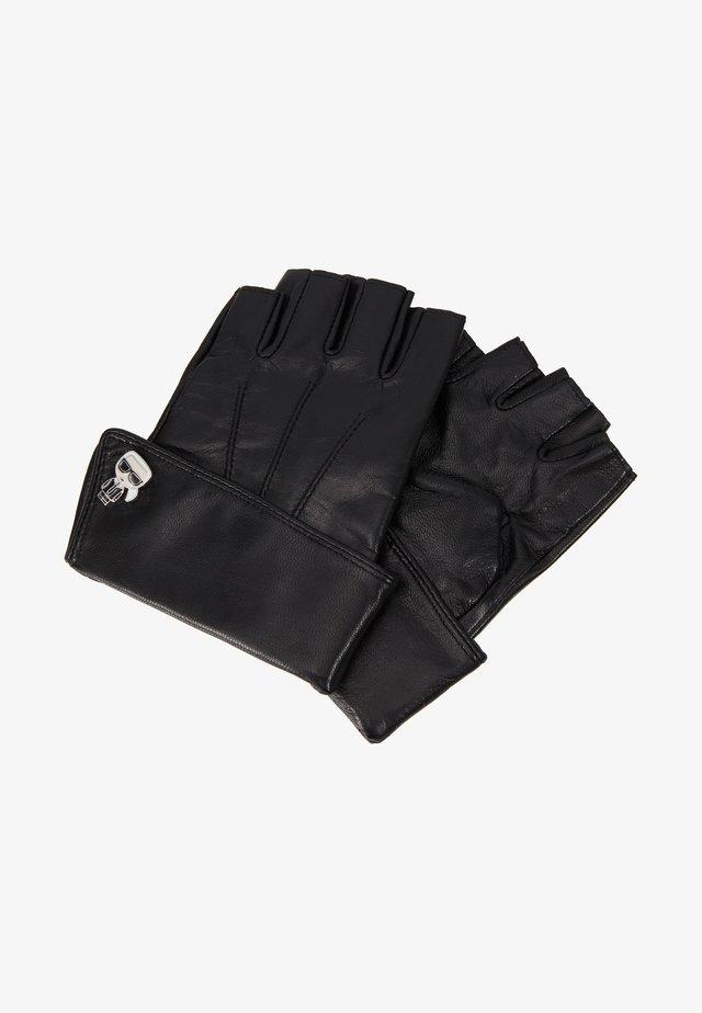 K/IKONIK PIN CUFF GLOVE - Kurzfingerhandschuh - black