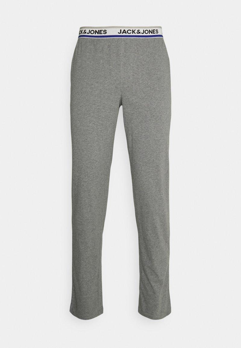 Jack & Jones - JACSIMON LONG PANTS - Pyžamový spodní díl - grey melange