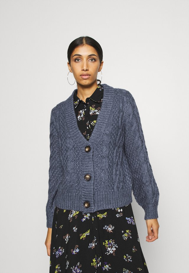 NATASHA  - Gilet - country blue melange