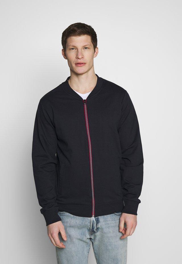 ANGUS - Zip-up hoodie - dark navy