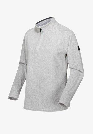 Fleece jumper - light steel