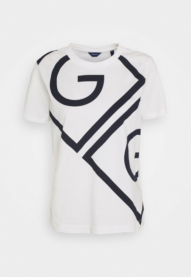 ICON  - T-shirt con stampa - eggshell