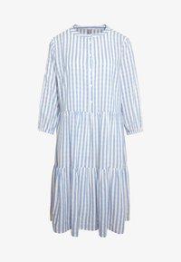 Culture - NOOR STRIPE DRESS - Shirt dress - mazarine blue - 5