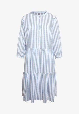 NOOR STRIPE DRESS - Robe chemise - mazarine blue