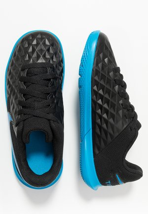 TIEMPO JR LEGEND 8 CLUB IC UNISEX - Indoor football boots - black/blue hero
