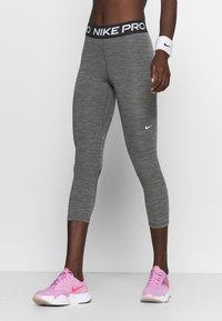 Nike Performance - CROP - Leggings - black/white - 0