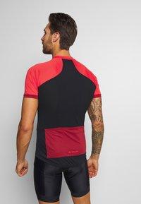 Vaude - ADVANCED FZ - T-Shirt print - carmine - 2