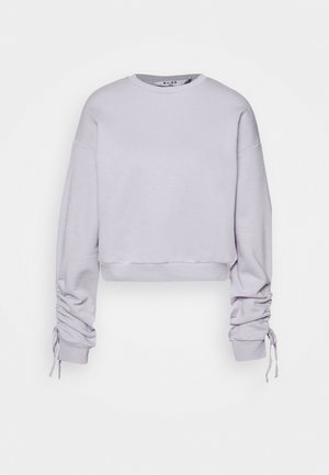 TIE SLEEVE - Sweatshirt - purple