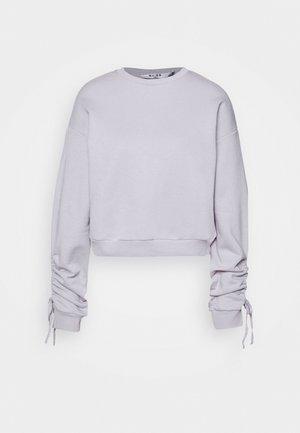 TIE SLEEVE - Bluza - purple